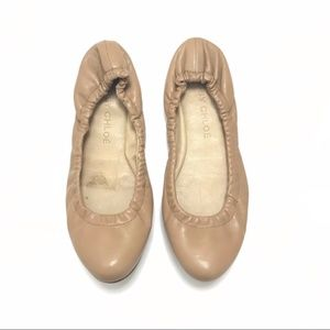 See by Chloé Ballet Leather Flats